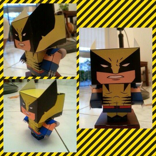 Wolverine cube craft