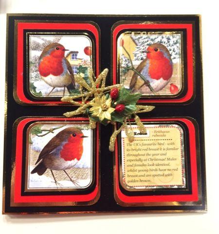 Jak Heath.com: Hunkydory Festive Birds of Britain
