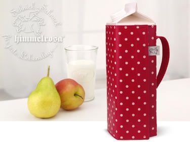 Umkleidung mit Henkel für TETRA-Pak-Getränkekarton I dawanda.com I Verkäufer: himmelrosa