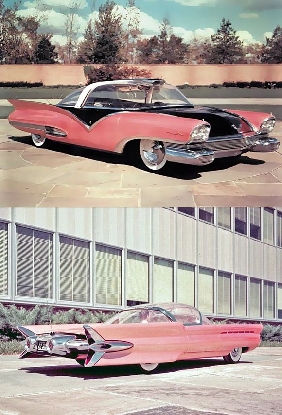 1955 Ford Mystere Concept Car.