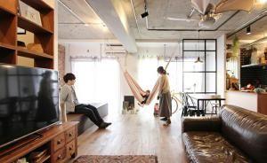 家族がつながる70m2の1ルーム。仕切らず「空間を分ける」リノベーション術