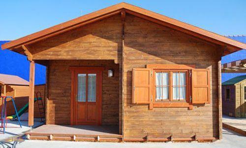 Casa lemn mica ieftina