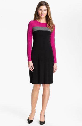 Karen Kane Colorblock Dress (Online Exclusive) | Nordstrom
