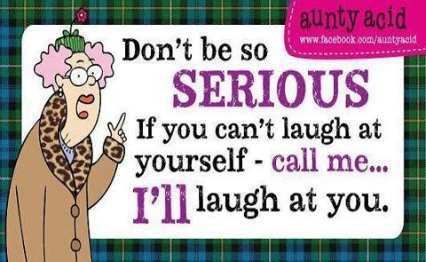 aunty acid......me bad!