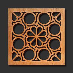 Decorative Laser Cut Wood Trivets