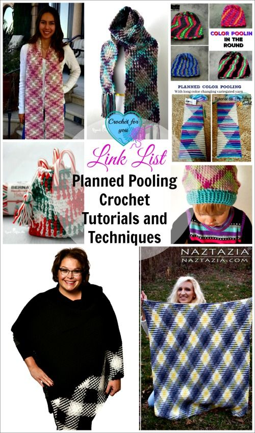 Link List for Planned Pooling  Crochet  Tutorials and Techniques