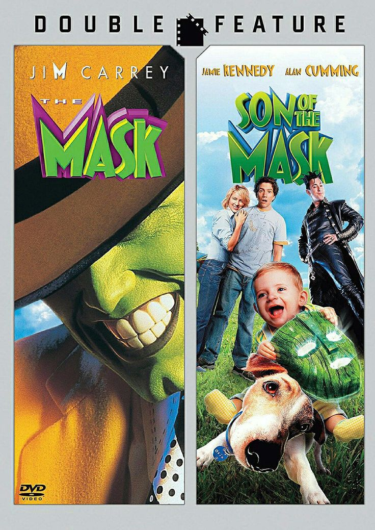The Mask and Son of the Mask double feature dvd