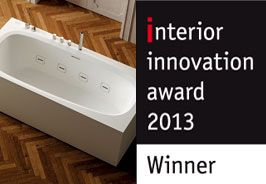 Outline #bathtub wins the interior innovation award 2013 - #Teuco #bathroom