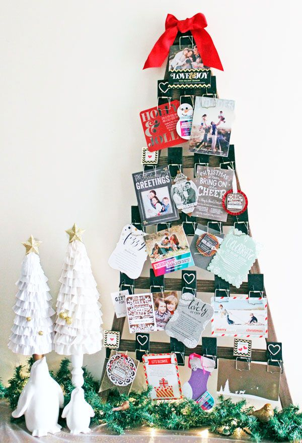 58 best Display Your Holiday Cards images on Pinterest | Holiday ...