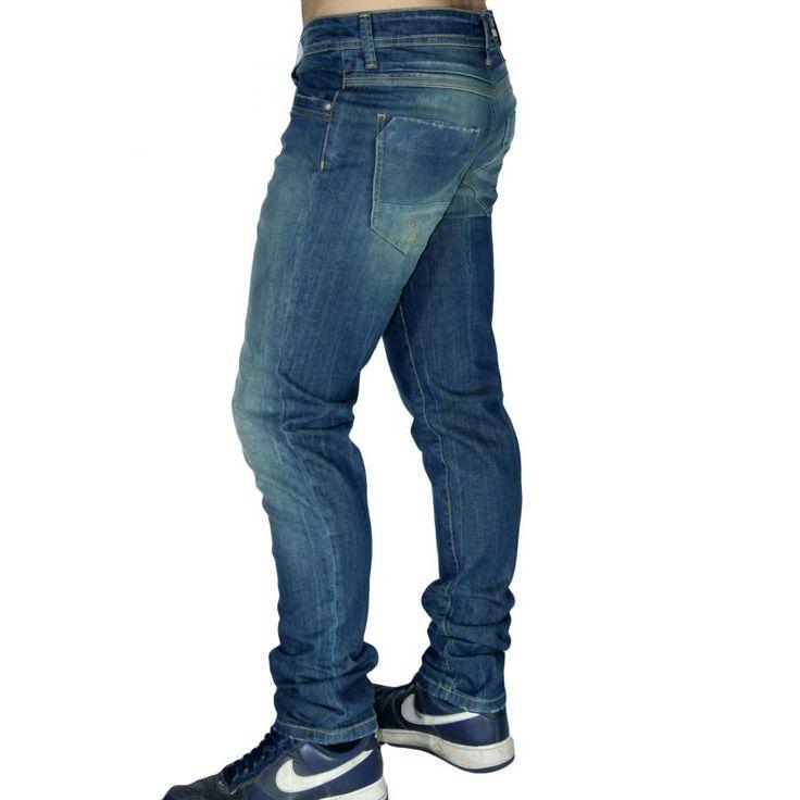 RED ROCK Ελαστικό skinny παντελόνι τζιν, κλείσιμο με κουμπιά