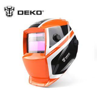 DEKOPRO Orange Mega Solar Auto Darkening MIG MMA Electric Welding MaskHelmetWelding Lens for Welding Machine or Plasma Cutter (32795862472)  SEE MORE  #SuperDeals