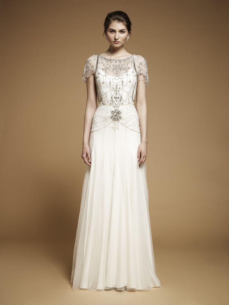 The 25 best Art deco wedding dress ideas on Pinterest