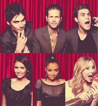 Damen,alark,Stephen,  Ellana,Bonnie,Caroline   I'm the biggest fan(: