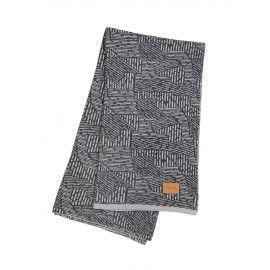 Ferm Living Maze torkkupeitto grey