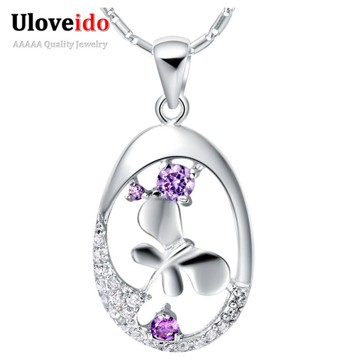 Find More Pendant Necklaces Information about Circle Pendant Necklace Long Chain with Crystal Pendants Fashion Amethyst Necklaces Jewelry for Women 2015 Wholesale Ulove N652,High Quality jewelry gifts for women,China jewelry bail Suppliers, Cheap jewelry stand from ULOVE Fashion Jewelry on Aliexpress.com