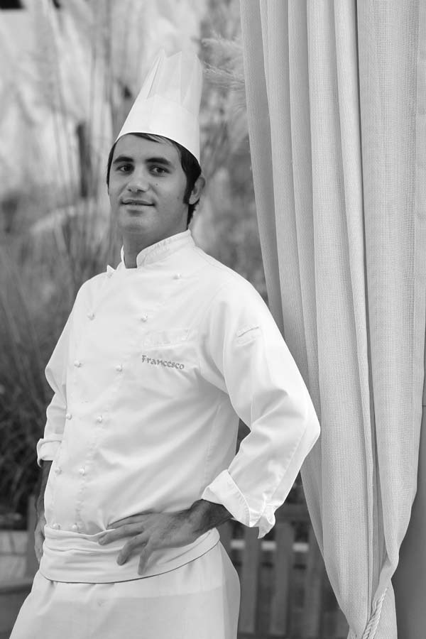 Italian Chef Francesco Montano -- A top chef at the Four Seasons Resort Marrakech in Morocco. #chef #cook
