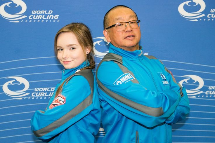 The beauty of the World Mixed Doubles Curling Championship:  It's 40-team format allows more countries (such as Kazakhstan, here with Diana Torkina and Viktor Kim) much-needed experience at international competition.
