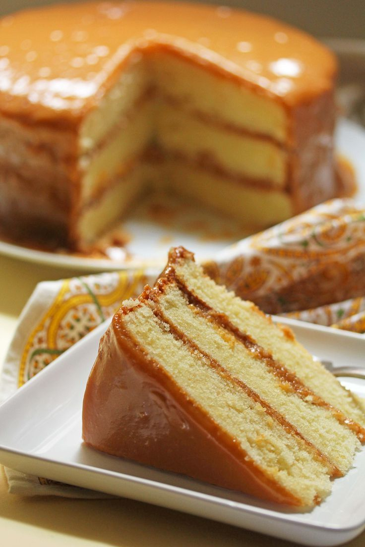 Real Deal Southern Caramel Cake Recipe Cakes Farms