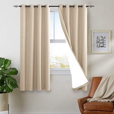 Sponsored Link Blackout Curtains Lined Thermal 63 Inches Length