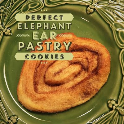 Dishfunctional Designs: Perfect Elephant Ear Pastry Cookies (to die for!)