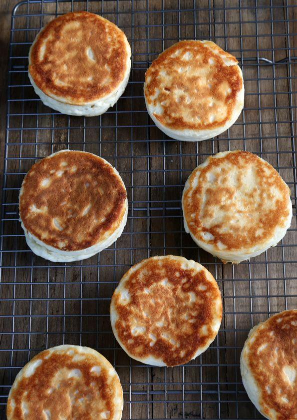 Super Fluffy Gluten Free English Muffins