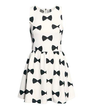 Jersey Bow Dress   H&M AU