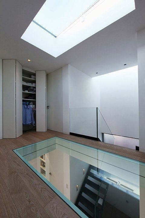 17 glass floor concepts for high finish ultra modern day for Floor to ceiling glass panels