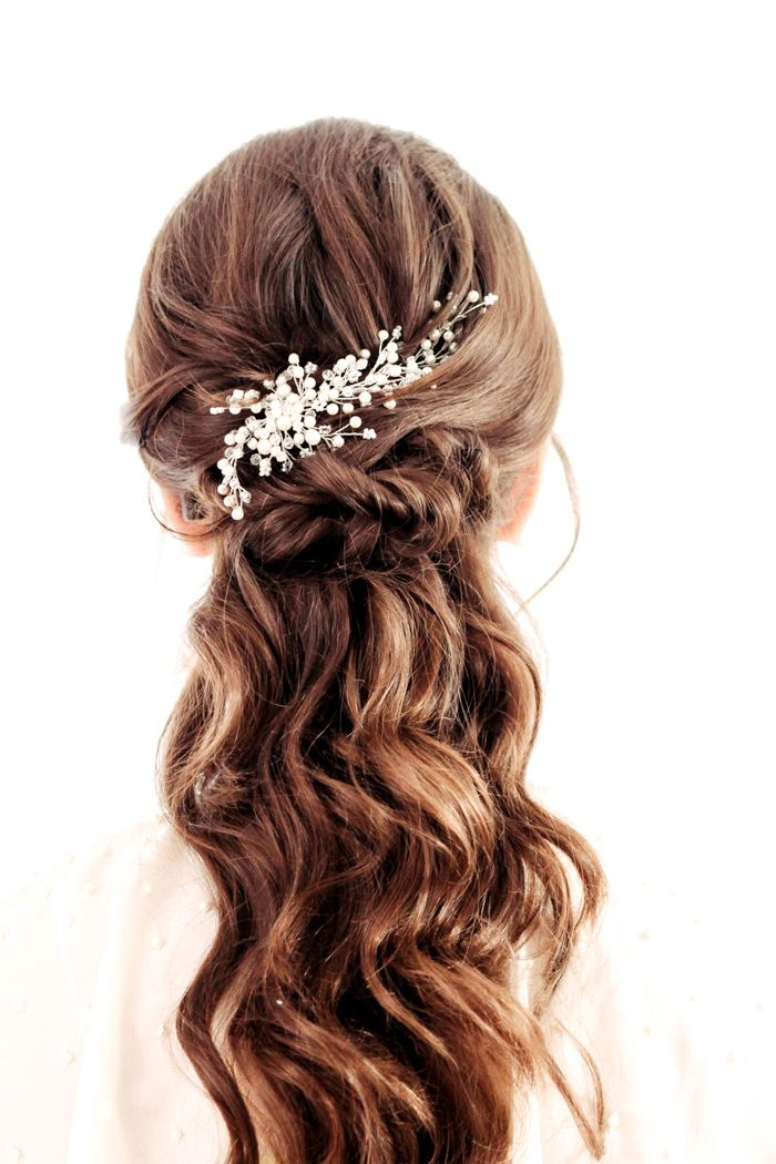 72 best brautfrisuren bridal hairstyle images on pinterest bridal hairstyle wedding hair. Black Bedroom Furniture Sets. Home Design Ideas