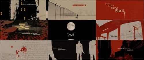 Graphic sequence - movie titles (2)