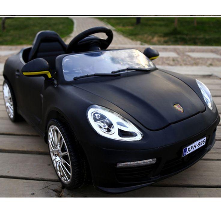 Merveilleux Sports Cars Kids Luxury Pink Ride On Toys Porsche Boxster Style Power  Wheels 12V BLACK