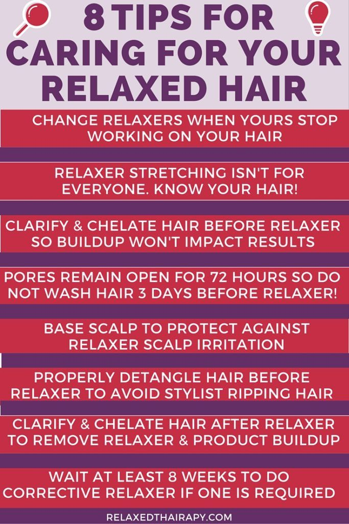 How to stretch relaxed hair...tips for growing hair long and healthy...regimen and preparing for touch up...when to do a corrective relaxer...combat dry hair + more! relaxedthairapy.com