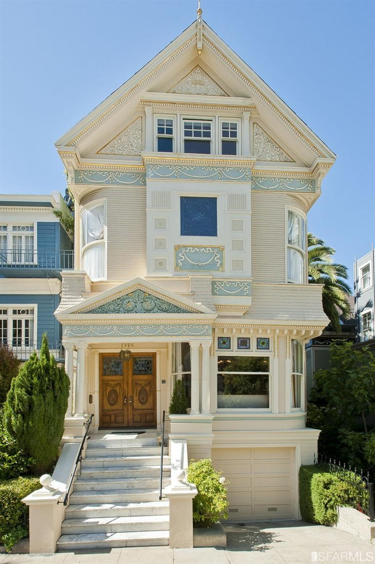 Pacific heights 3 600 000 1806 vallejo st san francisco for Victoria home builders