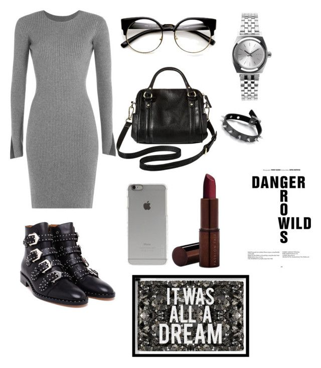 Untitled #82 by ezerys on Polyvore featuring polyvore, мода, style, Alexander Wang, Givenchy, Merona, Nixon, Incase, Fashion Fair, Oliver Gal Artist Co., fashion and clothing