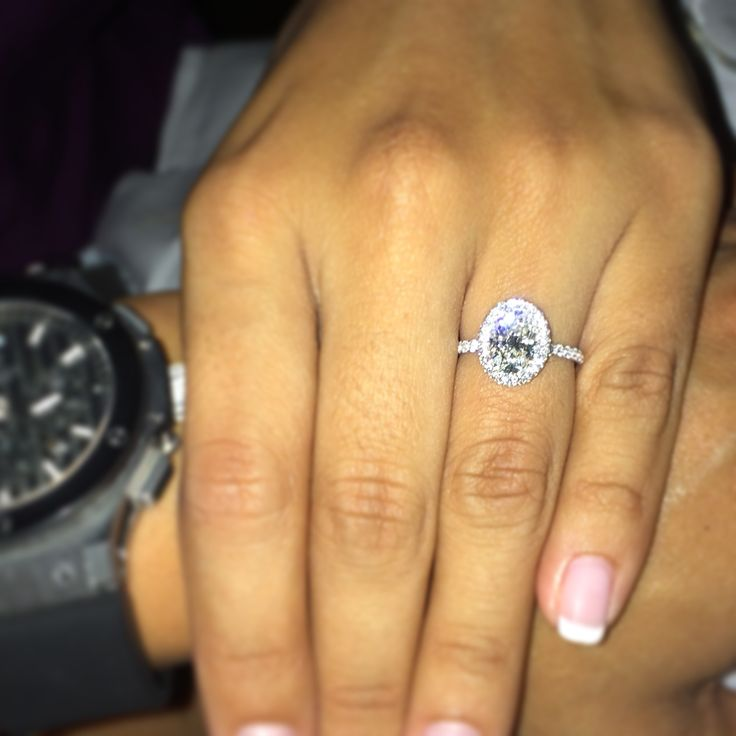 EVA engagement ring designed by Jean Dousset - JeanDousset.com - set with a…
