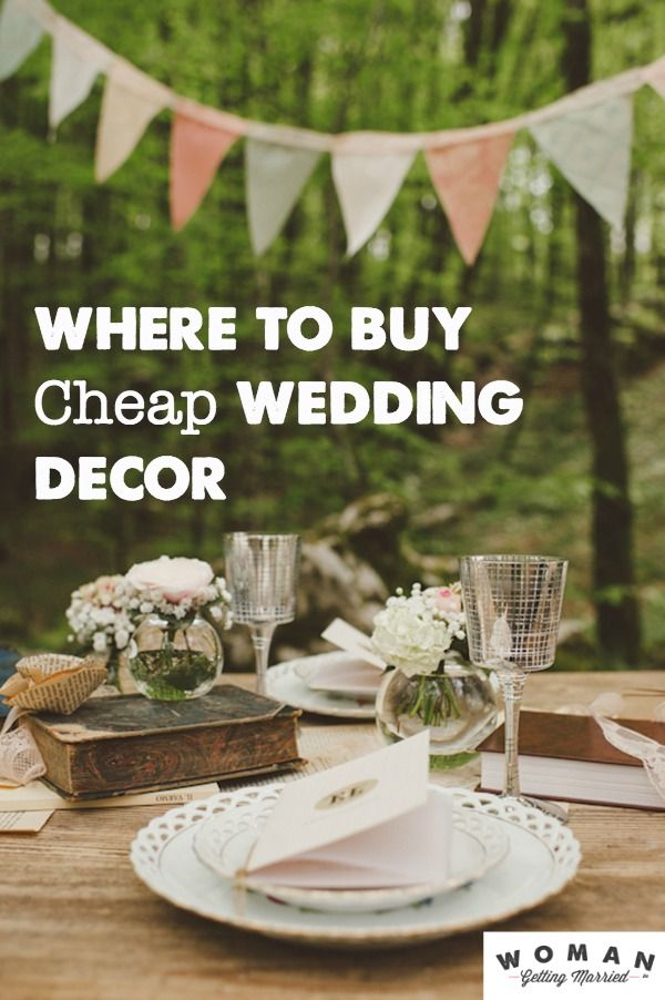 15 Cheap (and Awesome) Wedding Decorations You Can Buy Online