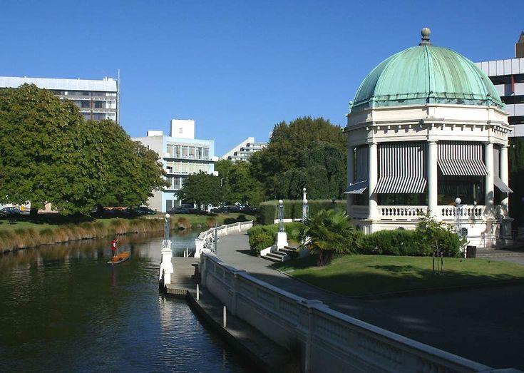 Edmonds Band Rotunda, turned into a restaurant, Christchurch New Zealand my home town.