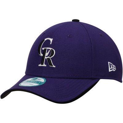 Colorado Rockies New Era The League Road 9FORTY Adjustable Hat - Purple
