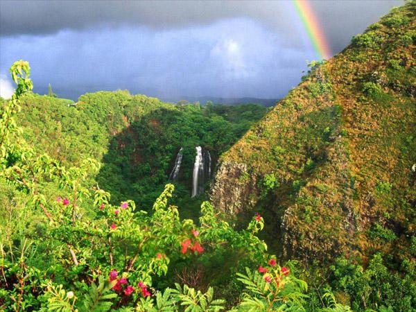 Havajské ostrovy jsou vyčnívající vrcholy největšího horského pásma na světě. To znamená, že zde najdete nejen místa, kde se dá válet na pláži, ale můžete také vyrazit na pořádné horské túry.