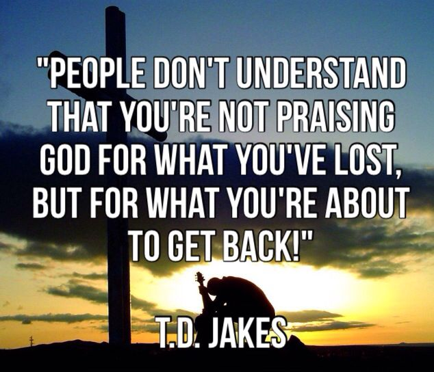 TD Jakes Quote God Is Love