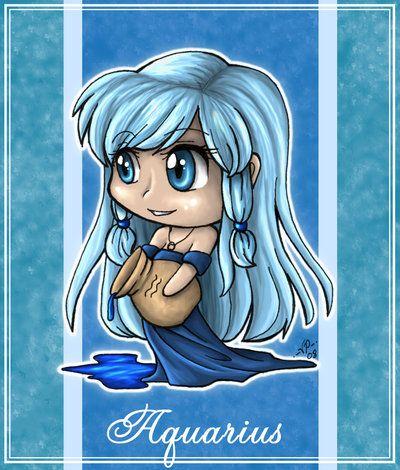 Zodiac Series - Aquarius by *angelnablackrobe on deviantART