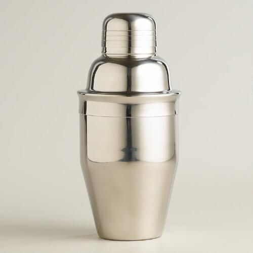"""""""Mix up your newest mocktail ideas with this mini stainless steel cocktail shaker, which is dishwasher safe and portable, so you can take it with you just about anywhere you go.  Better Homes & Gardens receives a commission for purchases made through the link on this page."""""""