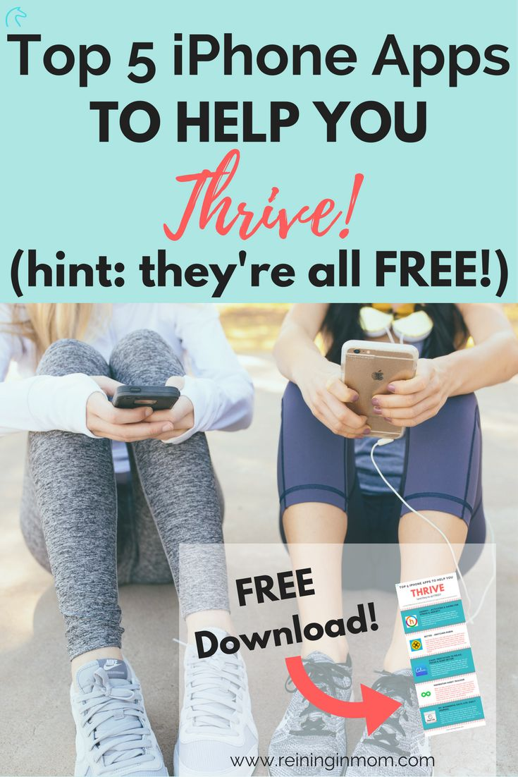 I can't believe these iPhone apps are all FREE and I'd never heard of them before! These apps are legit for creating and keeping healthy habits, and boosting happiness too! Download this list TODAY and stop spinning your wheels trying to do this on your own. via @Reininginmom