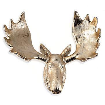 Best Mooses Head Art Images On Pinterest Moose Faux - Moose wall decor