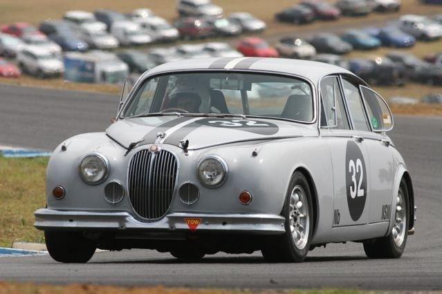 Jaguar Mk2 Race Car Sold Jaguar Racing Jaguar Vintage Racing