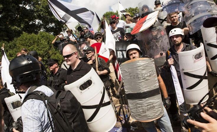 Inside the Chaos and Hate at Charlottesville