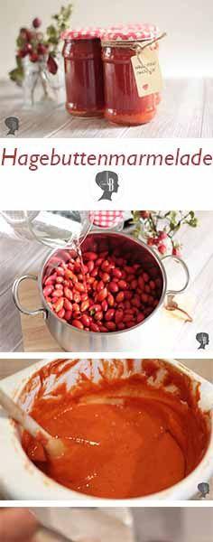 DIY: Hagebuttenmarmelade selber kochen - die kleinen roten Wunder sind echte Vitaminbomben. Gerade jetzt zur Erkältungszeit sehr zu empfehlen. #hagebutte #diy #marmelade #erkältung #abwehrkräfte #rezept