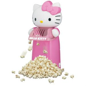 Hello Kitty Hot Air Popcorn Maker - Hello Kitty Tech Gadgets Make Great Gifts For Tween Girls