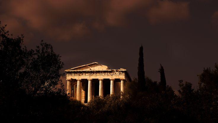 https://flic.kr/p/q8aAbx   Athens - Greece   Temple of Hephaestus