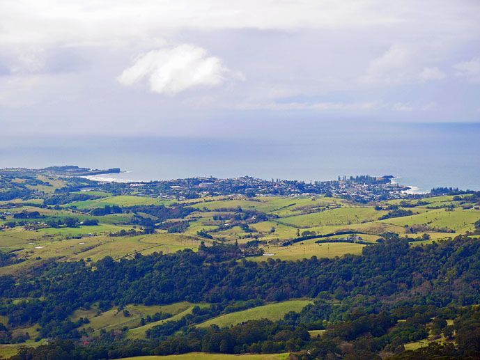 The view from Saddleback Mountain Lookout - Exploring the Grand Pacific Drive - The Trusted Traveller
