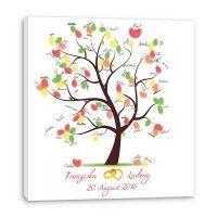 Fingerabdruck Baum -